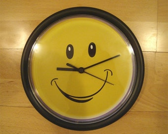 Happyface Wall Clock