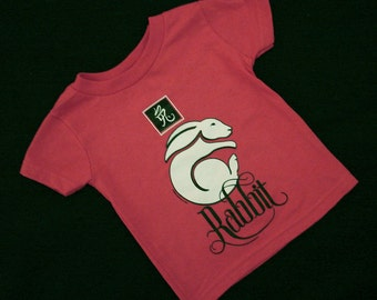 Baby - 18 months - Rabbit Shirt - Red