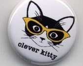 Clever Kitty Primaries Button Set