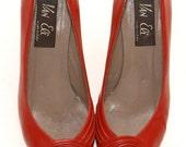 Vintage Red High Heels