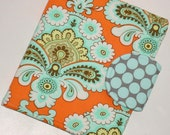 "Mini iPad Cover / Kindle Fire HD 7"" Cover / French Wallpaper eReader Cover - all sizes available"