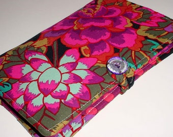 "Nook Glow Kindle Paperwhite Kindle Fire HD 7"" Black Cloisonne eReader Cover all sizes"