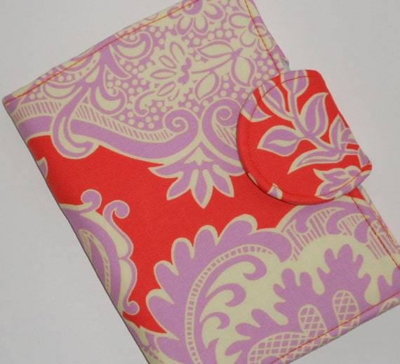 Nook Tablet Cover, Kindle Fire HD Cover, Mini iPad, Kindle Paperwhite Cover - Tangerine Sandlewood eReader Cover