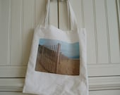 SHOP CLOSING SALE Simple Tote Bag - At the Beach