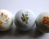TRIO of natural bath-not-bombs