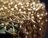 18inches Vintage Gold Toned Chain