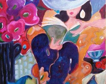 Summertime 16x16 Giclee reproduction