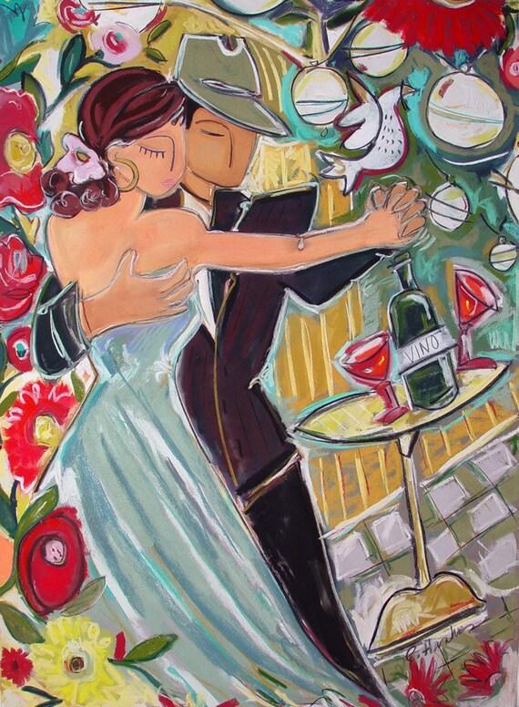 Harlequin Romance Print Reproduction