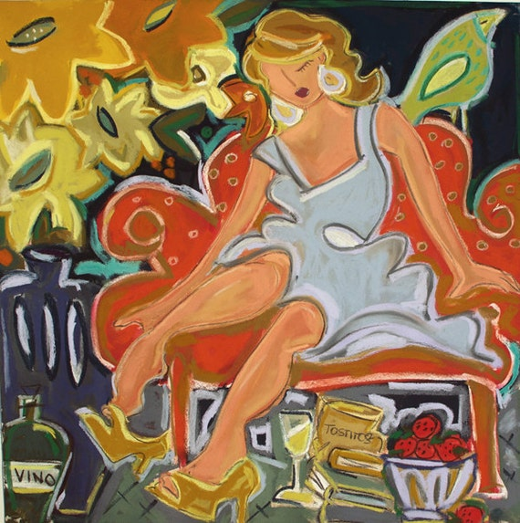 Beauty Has Her Way 12x12 Giclee Reproduction