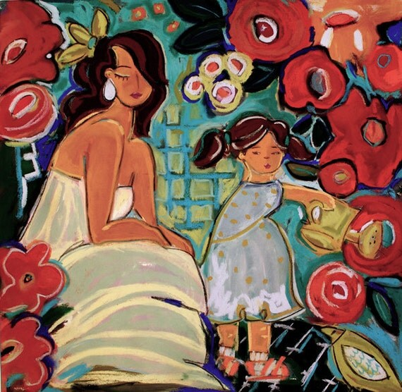 Seems Like Yesterday 12x12 Giclee Reproduction