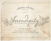 Serendipity, an Etsy banner and shop graphics set
