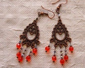 FREE SHIPPING SALE 20 PERCENT OFF OTTOMAN STYLE EARRINGS