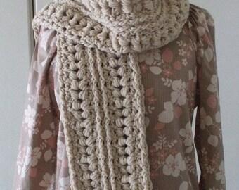 Cute Long Crochet Scarf