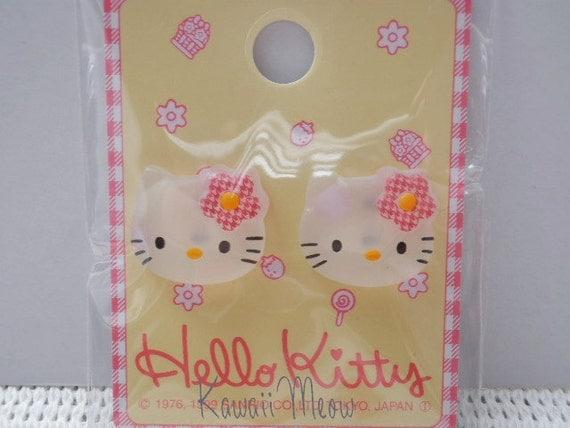 Kawaii Japanese Buttons - Hello Kitty - (RIO720)