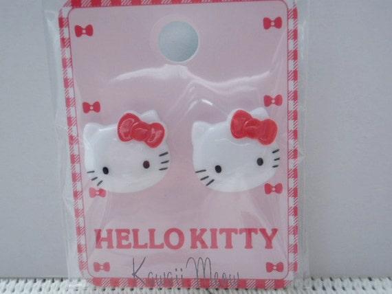 Kawaii Japanese Buttons - Hello Kitty - (RIO703)