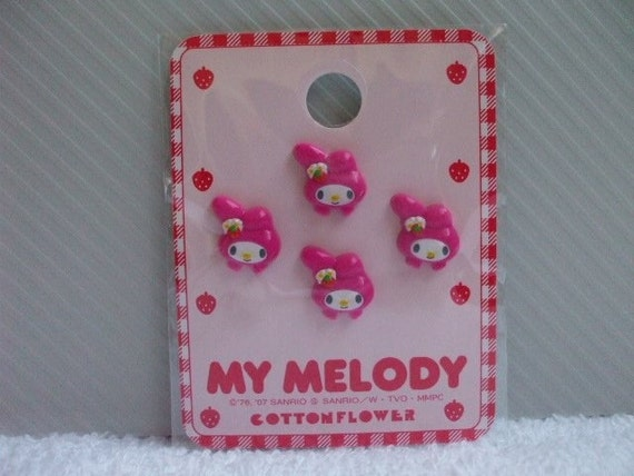 SALE Japanese Small Buttons -My Melody-