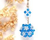 Pendant - Insygnium - Swarovski crystals, Sterling Silver - by Schneider Gallery - SchneiderGallery