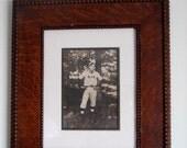 1900's Farm League baseball photo in frame