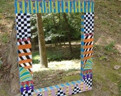 Reduced Price -- Handpainted Wall Mirror