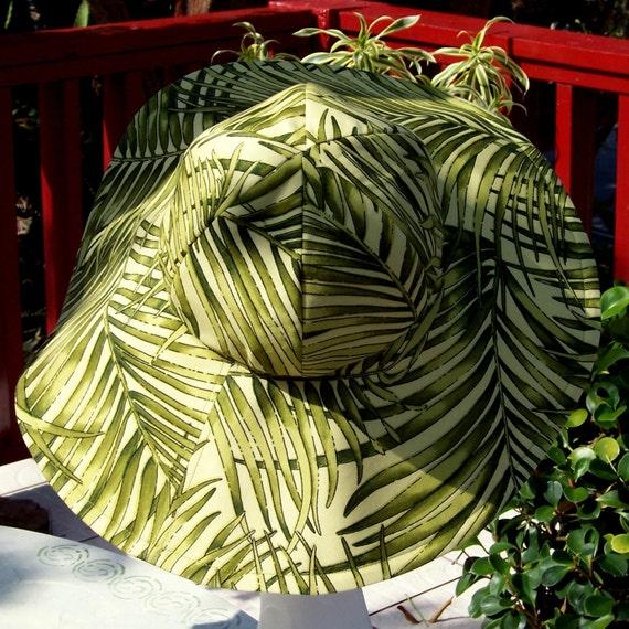 Jungle Queen Green Sunhat