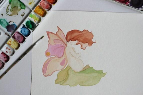 SALE - blooming fairy mama