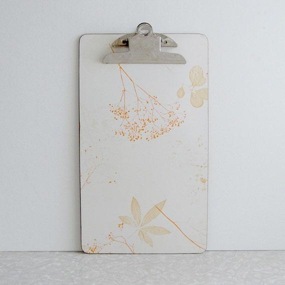 Botanical clipboard