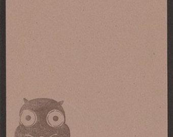 Owl Note Cards - Set of TEN