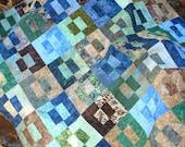 Nature Inspired Batik Quilt