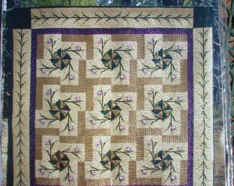 Lady of the  Woods Quilt Pattern - Paper Pieced