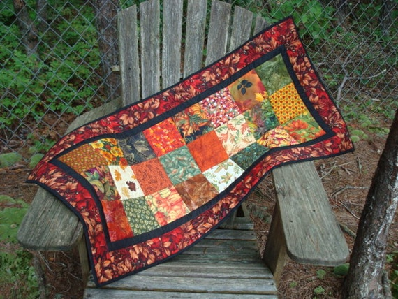 Fall Tablerunner Quilted