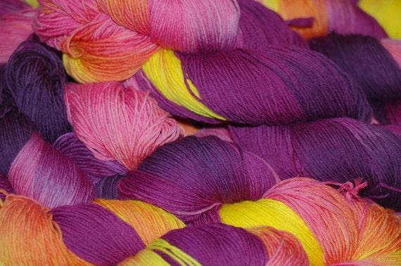 Studio June Yarn Sock Luck - Superwash Merino Wool, Nylon - Coneflower