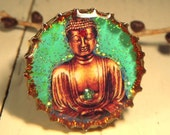 Free Shipping - Buddha Adjustable Ring