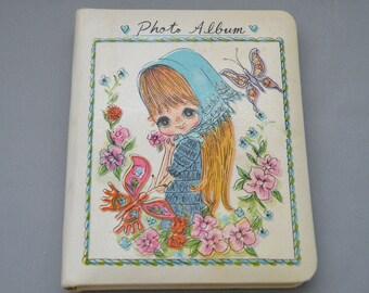 Mini Photo Album Vintage 1960's