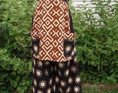 Handmade Hippie Patchwork Sunshine Pant and Apron top SALE