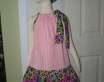 Pillow Case Toddler Dress Size 2 / 3
