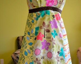 Sexy Hippie Patchwork Halter Summer Dress S13 Sale