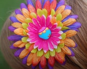 Girl's Multicolor Flower Headband