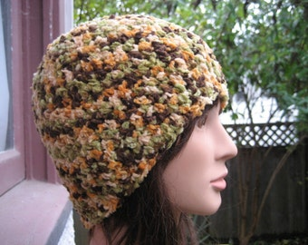 Multicolor Crocheted Hat 113/11