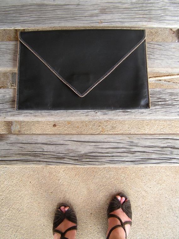 Posh Envelope Clutch