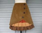 Days of Heaven ruffle front skirt Sz 8