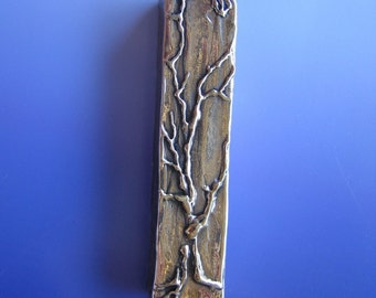 Tree of Life Mezuzah (Bronze)