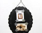Oval Black Collage Frame