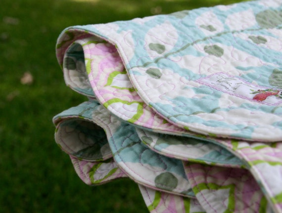 SALE Heirloom Crafted, Modern Design, Spindrift Quilt - Sweet Juniper