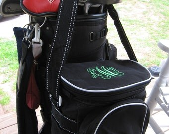 Personalized cooler golf fishing everyday tote -  great fathers day gift or wedding party gift