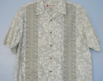 Men's MCD  Hawaiian Style Shirt Med