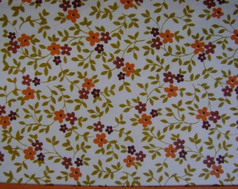 Vintage Wrapping Paper-Norcross Gift Wrap-MIni Floral Wall Paper Print
