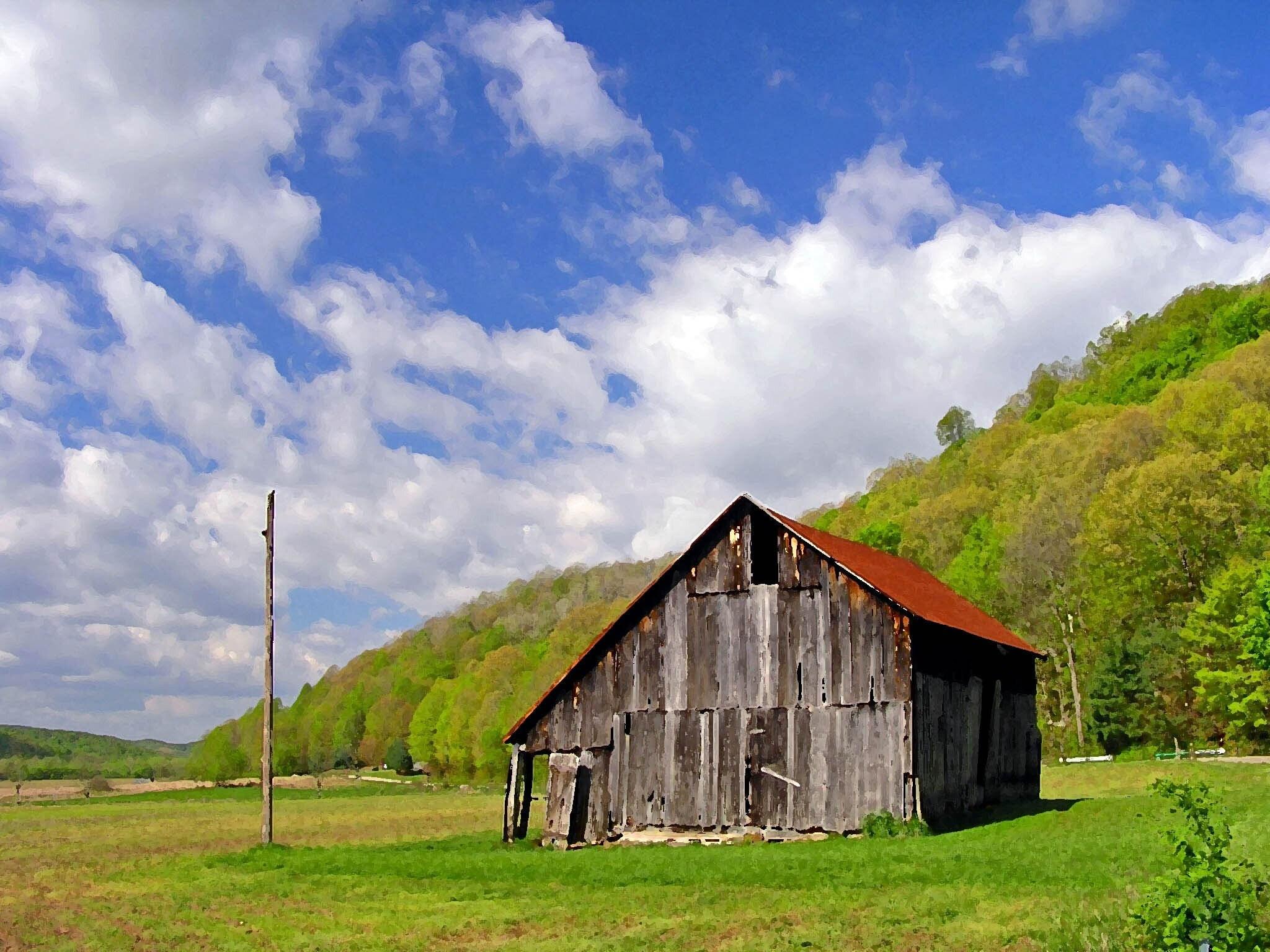 Barn Landscape Photography Images
