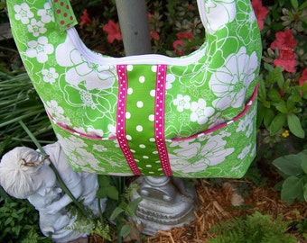 Hobo purse pdf pattern and Tutorial Easy pattern Immediate Download e-file