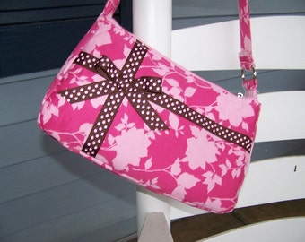 purse pattern Small Easy Zipper Handbag Pdf Pattern Tutorial with Immediate download e-file