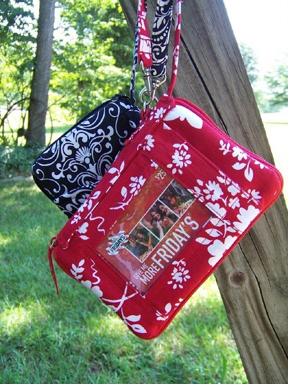 Wristlet all in one pdf pattern Ipod Cell Phone Check Book
